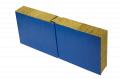 Sandwich panel: from a minvata, polyfoam, PPU