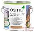 Лазурь однослойная Osmo Einmal-Lazur 2,5 л