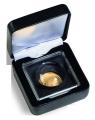 Футляр из искусственной кожи для монеты в капсуле MAGNICAPS