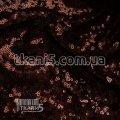 Ткань Пайеточная ткань густая ( марсала ) 5602