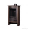 Печь-камин Piccolo I коричневый бархат