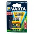 Аккумулятор VARTA RECHARGEABLE ACCU AA 2400mAh BLI 2 NI-MH