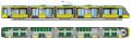 Пятисекционный трамвай T5B64 Электрон
