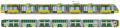 Семисекционный трамвай T7B86 Электрон