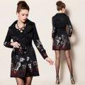 Женское модное пальто, модель 0344