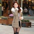 Женское зимнее пальто, модель 844