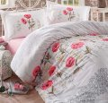 Комплект постельного белья Aran Clasy Vera V1 двуспальный евро