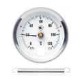 Термометр накладной 0 ... 120°с Ф63мм