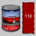 Алкидная автомобильная краска Mixon Synthetic, Рубин 110, 1 л