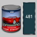 Алкидная автомобильная краска Mixon Synthetic, Синяя 481, 1 л