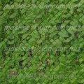 Забор декоративный на основе пластиковой сетки светло-зеленый