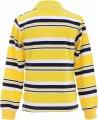 Стильный свитер-поло желтого цвета