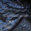 Ткань Пайеточная ткань густая ( темно-синий ) 5623