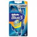 Бритвы одноразовые Gillette Blue 3 (6 шт) 7702018020294