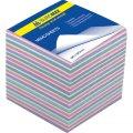 Блок бумаги для записей Buromax ЗЕБРА 90х90х60