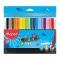 Фломастеры Maped COLOR PEPS Ocean 18 цветов (MP.845721)