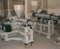 Extruder lines with a ploskoshchelevy head for production PP, PS, PET, a leaf of a film
