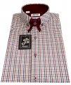 Мужская рубашка с коротким рукавом S 5.1-  7381-V1+506/19-1930