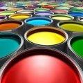 El esmalte ПФ-115 de los colores distintos fasovka 0,5 0,9 kg,