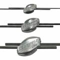 Скоби кріпильні для кріплення дроту шпалерного
