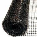 Сетка вольерная чёрная, размер: ячейки 22х22мм, рулона 1х100м - Китай