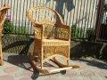 Кресло-качалка из лозы 60см*57см*98см