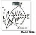 Весы напольные электронные Momert 5854 Рыба