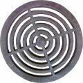 Решетка колосниковая колосник печная круглая D 370 мм. KU-0036