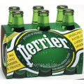 PERRIER mineral water (Perrier) glass 0,33 l, gas (24 pcs.).