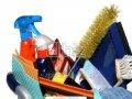 国际劳工组织可变喷嘴与超细纤维通心粉蓝色40cm的拖把。