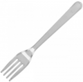 Fork transparent 100 pcs. Super