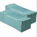 Papier Serviettes ZZ-vert ajoutant 180 litres. (25 sacs / caisse)