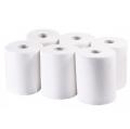 Кърпи хартиени Бима 2-пласт бяла маса на 120 м (4 бр / опаковка)