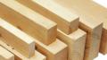 Хвойный брус, брус деревянный на экспорт