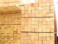 Брус хвойных пород дерева, производство пиломатериалов