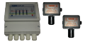 Signaling devices of gas and sensors of gas industrial for butane propane for installation on gas modules, AGZS, gas stations.