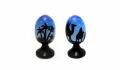 El huevo Religious R de madera - 15