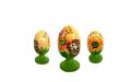 El huevo Easter R de madera - 49
