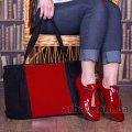Женская сумка  90055 замш Украина