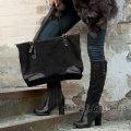 Женская сумка 90020 замш Украина