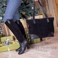 Женская сумка 90082 замш Украина