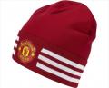 Шапочка Adidas 3S Woolie Red  ФК Манчестер Юнайтед