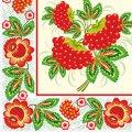 Napkin 24х24 of the 3rd sl. 20 pieces of Margo guelder-rose