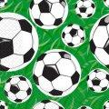 Салфетка 24х24 3-х слойные Марго футбол