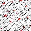 Салфетка 33х33 Love You Марго 20шт