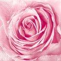 Салфетка 33х33 бутон розы Марго 20шт