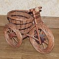 Велосипед из лозы, код: 10-510