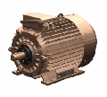 Electric motor 6AMU 315S8, 90 of kW, 750 RPM.