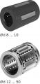 Элин шариковыми втулками, нержавеющая сталь, R0658 KBC -..- DD-RT-NR-G