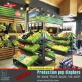 Торговые стеллажи для овощей